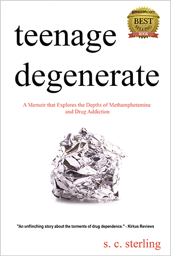 Order Teenage Degenerate on Amazon